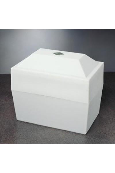 Oversize White Urn Vault #3VW804